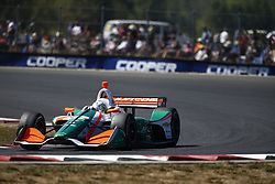 September 2, 2018 - Portland, Oregon, United Stated - ALFONSO CELIS JR. (32) of Mexico battles for position during the Portland International Raceway at Portland International Raceway in Portland, Oregon. (Credit Image: © Justin R. Noe Asp Inc/ASP via ZUMA Wire)