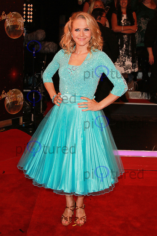 Kellie Bright, Strictly Come Dancing 2015 - Red Carpet Launch, Elstree Studios, Elstree UK, 01 September 2015, Photo by Brett D. Cove