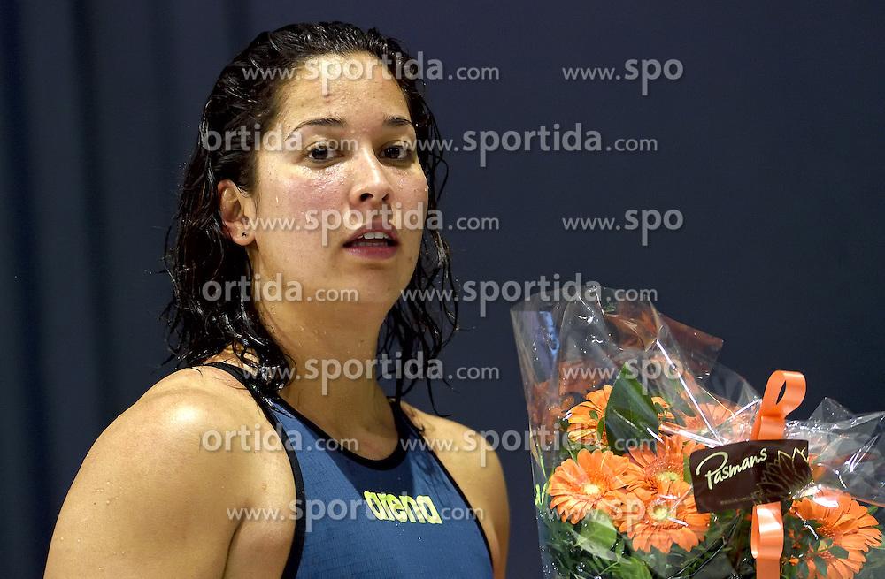 02-04-2015 NED: Swim Cup, Eindhoven<br /> Ranomi Kromowidjojo wint de 50m vrij<br /> Photo by Ronald Hoogendoorn / Sportida