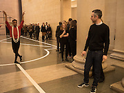 DANCER; PABLO BRONSTEIN, Historical Dances in an  antique setting., Pable Bronstein. Annual Tate Britain Duveens commission.  London. 25 April 2016