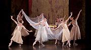 The Birmingham Royal Ballet <br /> Three Short Story Ballets (mixed Bill) <br /> at Birmingham Hippodrome, Birmingham, Great Britain <br /> Rehearsal 21st June 2017 <br /> <br /> Le Baiser de la f&eacute;e <br /> Choreography by Michael Corder<br /> <br /> Music: Igor StravinskyDesigns: John MacfarlaneLighting: Paule Constable<br /> <br /> <br /> <br /> Mathias Dingman<br /> Bride: <br /> <br /> Miki Mizutani <br /> <br /> <br /> <br /> <br /> <br /> <br /> <br /> Photograph by Elliott Franks <br /> Image licensed to Elliott Franks Photography Services