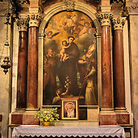 Side Altar of St. Mark&rsquo;s Cathedral in Korčula, Croatia <br />