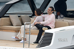 Michelle Rodriguez and Mohammed Al Turki at Eden Roc during Cannes Film Festival. 21 May 2019 Pictured: Michelle Rodriguez and Mohammed Al Turki at Eden Roc during Cannes Film Festival. Photo credit: EliotPress / MEGA TheMegaAgency.com +1 888 505 6342