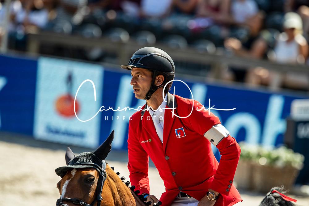 Guerdat Steve, SUI, Alamo<br /> European Championship Dressage<br /> Rotterdam 2019<br /> © Hippo Foto - Dirk Caremans
