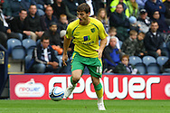 Preston - Saturday September 18th, 2010: Chris Martin of Norwich in action during the Npower Championship match at Deepdale, Preston. (Pic by Paul Chesterton/Focus Images)