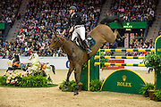 Roger Yves Bost - Castle Forbes Myrtille Paulois<br /> Rolex FEI World Cup Final 2013<br /> © DigiShots