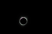 The full eclipse of the sun by the moon August 21, 2017, shot from the McCabe Methodist Church five miles south of McMinnville.