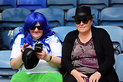 Bury fans in fancy dress during the EFL Sky Bet League 1 match between Southend United and Bury at Roots Hall, Southend, England on 30 April 2017. Photo by Matthew Redman.