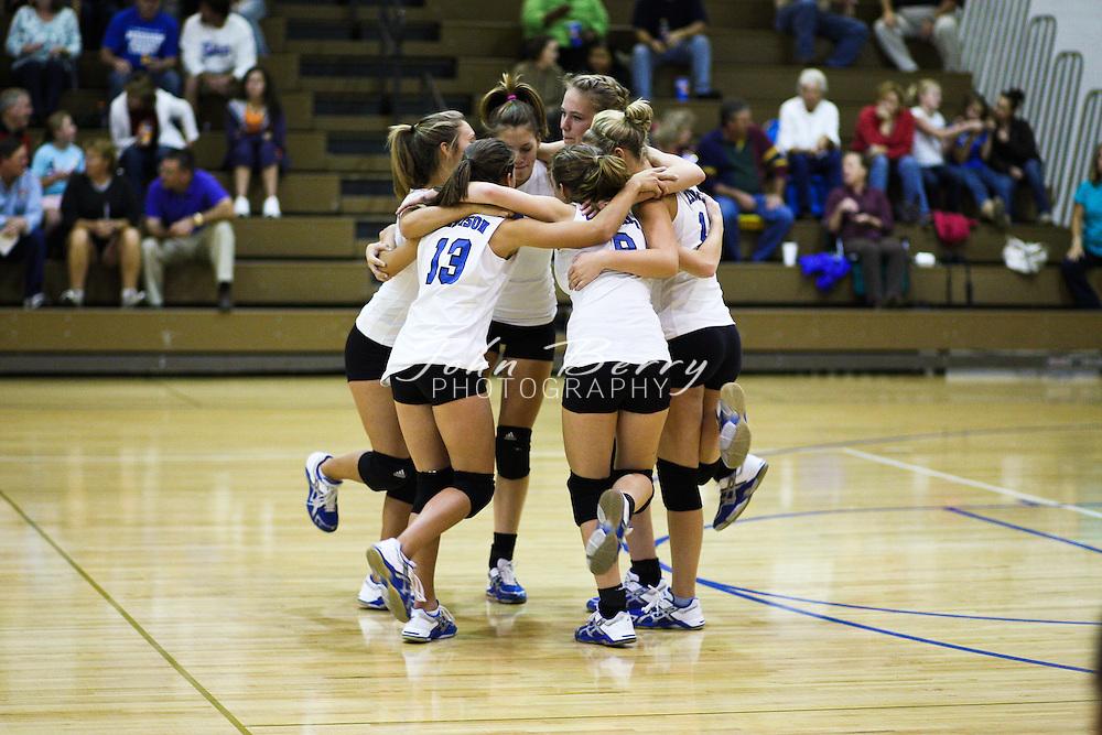 MCHS Varsity Volleyball .vs George Mason   .10/1/09
