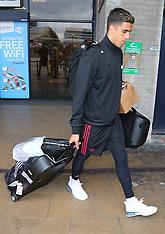 Manchester United team returns from USA Pre-Season Tour - 1 Aug 2018