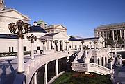Capitol Architecture, East Entrance, Harrisburg, Pennsylvania