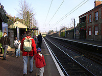 Glenageary Dart Station Dublin Ireland