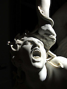 Light & Shadows on a sculpture at the Musée des Beaux-Arts in Lyon, France