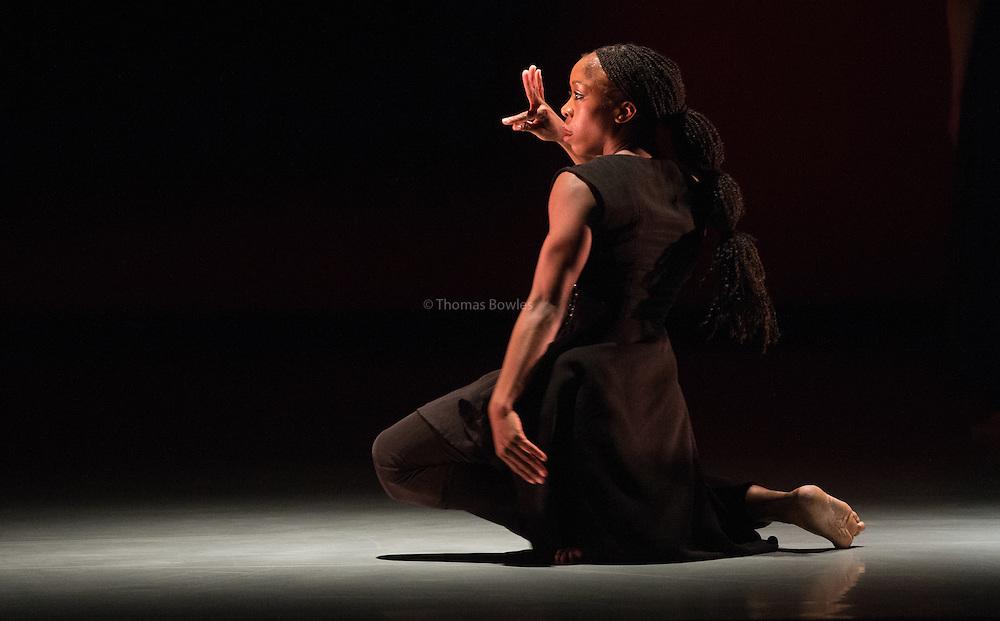 Kristina Alleyne performs Kaash by Akram Khan Company at Sadlers Wells.