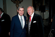 STUART ROSE; HAROLD TILLMAN, TATLER 300TH ANNIVERSARY PARTY. Lancaster House. St. james's. London. 14 October 2009 *** Local Caption *** -DO NOT ARCHIVE-© Copyright Photograph by Dafydd Jones. 248 Clapham Rd. London SW9 0PZ. Tel 0207 820 0771. www.dafjones.com.<br /> STUART ROSE; HAROLD TILLMAN, TATLER 300TH ANNIVERSARY PARTY. Lancaster House. St. james's. London. 14 October 2009