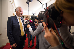 21.03.2018, Hofburg, Wien, AUT, Parlament, Sitzung des Nationalrates mit Budgetrede des Finanzministers für das Doppelbudget 2018 und 2019, im Bild Justizminister Josef Moser (ÖVP) // Austrian Minister for Justice Josef Moser during meeting of the National Council of austria with the presentation of the Austrian government budget for 2018 and 2019 at Hofburg palace in Vienna, Austria on 2018/03/21, EXPA Pictures © 2018, PhotoCredit: EXPA/ Michael Gruber
