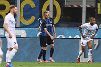 esultanza gol Ivan Perisic<br /> Milano 28-05-2017, Stadio Giuseppe Meazza, Football Calcio 2016/2017 Serie A, Inter-Udinese, Foto Image Sport/Insidefoto