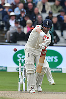 Cricket - 2019 Australia Ashes Tour of England - 4th Test, Day Three<br /> <br /> Rory Burns is beaten watched by Joe Root,  , at Old Trafford.<br /> <br /> COLORSPORT/WINSTON BYNORTH