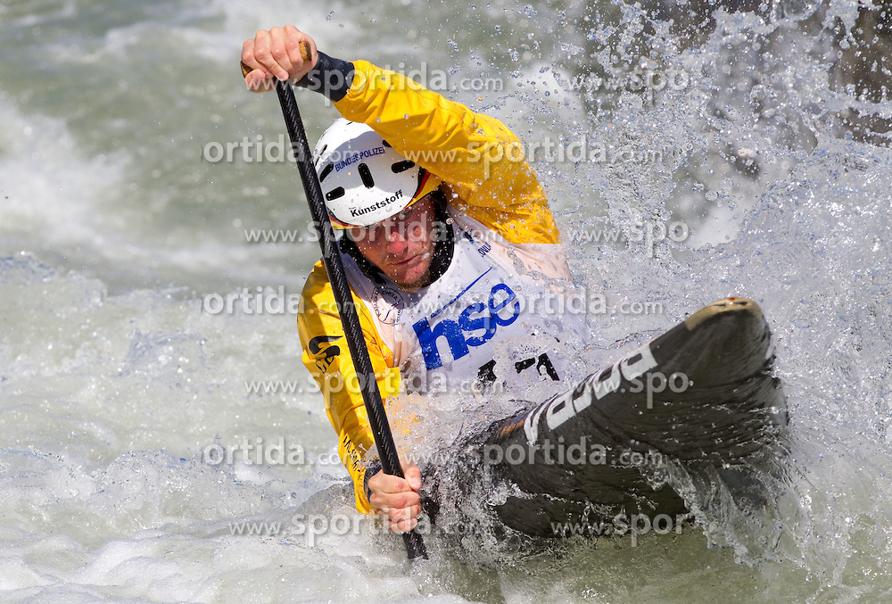 Nico Henrik Bettge of Germany competes during semifinal race at ICF Canoe Slalom World Cup Sloka 2011, on June 25, 2011, in Tacen, Ljubljana, Slovenia. (Photo by Vid Ponikvar / Sportida)
