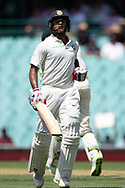 Indian player Mayank Agarwal runs between wickets at the 4th Cricket Test Match between Australia and India at The Sydney Cricket Ground in Sydney, Australia on 03 January 2019.