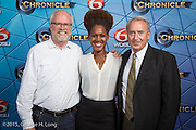 "WDSU-TV premiere event for ""Chronicle: The Cuban Evolution"" at the Contemporary Arts Center in New Orleans on June 26, 2015"