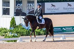 TRABERT Dr. Angelika (GER), Diamond´s Shine<br /> Tryon - FEI World Equestrian Games™ 2018<br /> Para-Dressur Grade III Teamwertung <br /> 21. September 2018<br /> © www.sportfotos-lafrentz.de/Stefan Lafrentz