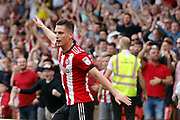 Brentford Forward Sergi Canos (47) celebrates his goal (score 1-0) during the EFL Sky Bet Championship match between Brentford and Queens Park Rangers at Griffin Park, London, England on 21 April 2018. Picture by Andy Walter.