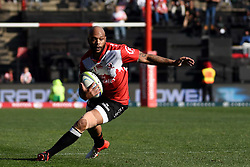 Lionel Mapoe during the semi final of the Vodacom Super Rugby 2016 season between the Lions and the Highlanders held at the Emirates Airline Park in Johannesburg, South Africa on the 30th July 2016Photo by Real Time Images