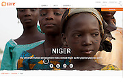 2015 03 30 Tearsheet CARE Niger country page