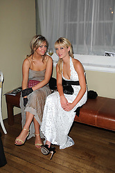 Left to right, NICOLA ROBINSON and SARAH READER at the 13th annual Russian Summer Ball held at the Banqueting House, Whitehall, London on 14th June 2008.<br /><br />NON EXCLUSIVE - WORLD RIGHTS