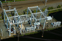 Aerial view of Electrical Power Grid