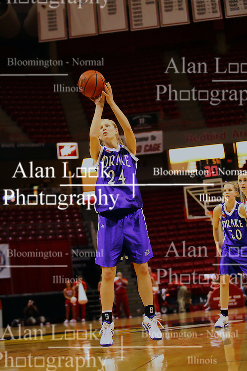 31 December 2006: Kelsey Keizer. The Bulldogs of Drake University dropped a conference match-up to the Redbirds 64-50 at Redbird Arena in Normal Illinois on the campus of Illinois State University.<br />