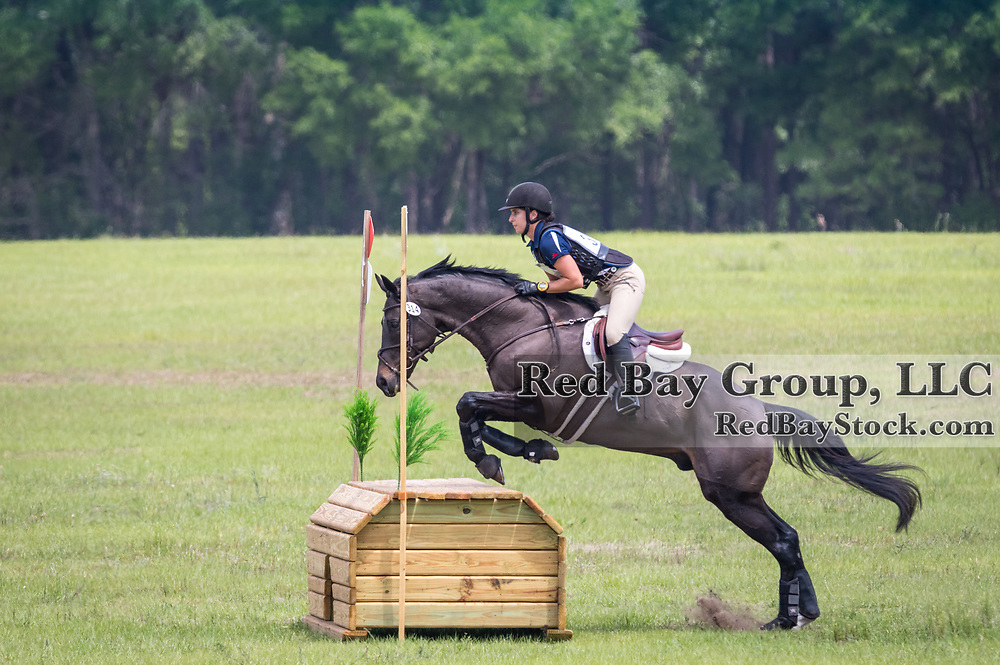 Genevieve Routhier and Awesome Prince at the Ocala International in Ocala, Florida.