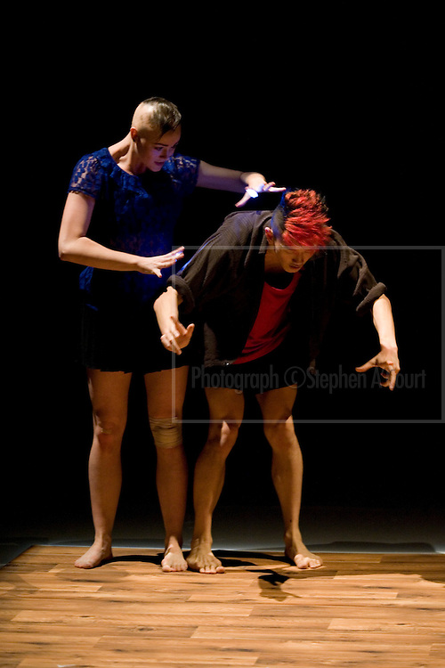 The New Zealand School of Dance's Choreographic Season titled 'On the Other Hand'. Ten new works of expressive dance, examining conversation through movement. Artistic coordinator, Victoria Colombus.