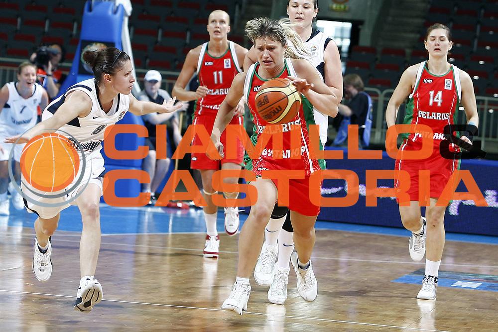 DESCRIZIONE : Riga Latvia Lettonia Eurobasket Women 2009 Quarter Final Slovacchia Bielorussia Slovak Republic Belarus<br /> GIOCATORE : Natalia Anufryienka<br /> SQUADRA : Bielorussia Belarus<br /> EVENTO : Eurobasket Women 2009 Campionati Europei Donne 2009 <br /> GARA : Slovacchia Bielorussia Slovak Republic Belarus<br /> DATA : 17/06/2009 <br /> CATEGORIA : palleggio<br /> SPORT : Pallacanestro <br /> AUTORE : Agenzia Ciamillo-Castoria/E.Castoria<br /> Galleria : Eurobasket Women 2009 <br /> Fotonotizia : Riga Latvia Lettonia Eurobasket Women 2009 Quarter Final Slovacchia Bielorussia Slovak Republic Belarus<br /> Predefinita :