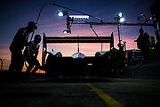 March 12-15, 2019: 1000 Miles of Sebring, World Endurance Championship. Toyota mechanics