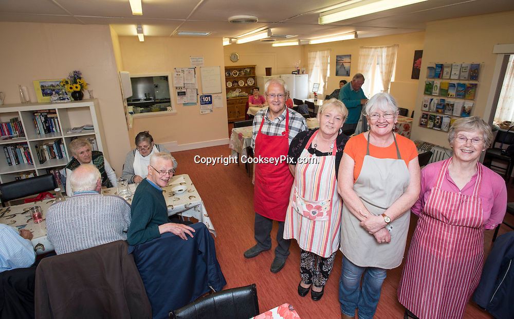 Picture by Christian Cooksey/CookseyPix.com on behalf of South Ayrshire Council.<br /> <br /> Strictly Seniors magazine.<br /> <br /> Age Concern, Girvan. The Lunch Club<br /> <br /> <br /> <br /> <br /> All rights reserved. For full terms and conditions see www.cookseypix.com