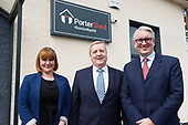 Minister Breen at Portershed