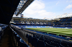 General view inside Stamford Bridge. - Photo mandatory by-line: Alex James/JMP - Mobile: 07966 386802 - 10/05/2015 - SPORT - Football - London - Stamford Bridge - Chelsea v Liverpool - Barclays Premier League