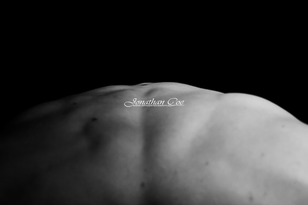 Bodyscapes - Created using various methods of shooting and lighting, to create something that looks like a landscape, from the human body.