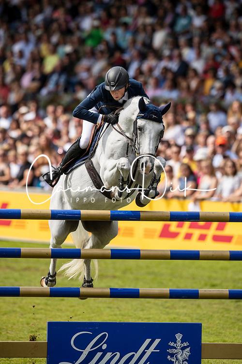 Fuchs Martin, SUI, Clooney 51<br /> CHIO Aachen 2019<br /> Weltfest des Pferdesports<br /> © Hippo Foto - Dirk Caremans<br /> Fuchs Martin, SUI, Clooney 51