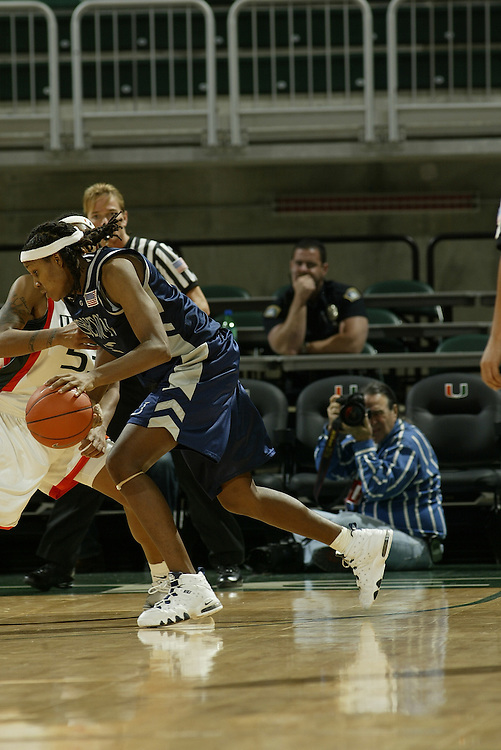 JC Ridley Photos Archive<br /> <br /> 2004 Georgetown Women's Basketball
