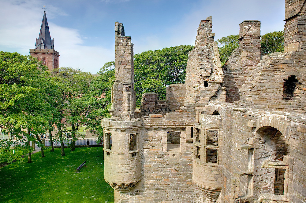 The Earl's Palace, Kirkwall Orkney Islands Scotland