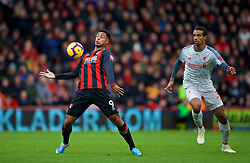 BOURNEMOUTH, ENGLAND - Saturday, December 8, 2018: AFC Bournemouth's Lys Mousset during the FA Premier League match between AFC Bournemouth and Liverpool FC at the Vitality Stadium. (Pic by David Rawcliffe/Propaganda)