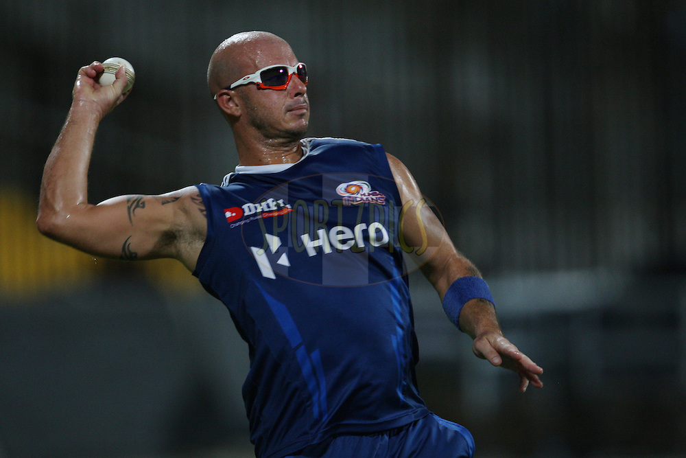 Herschelle Gibbs during the practice session of the Chennai Super Kings and Mumbai Indians held at the MA Chidambaram Stadium in Chennai, Tamil Nadu, India on 2 April 2012...Photo by Jacques Rossouw/BCCI/SPORTZPICS .