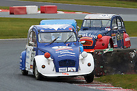 #57 Peter RUNDLE Citron 2CV 602 during 2CVParts.com Classic Championship as part of the BARC NW - Championship Raceday  at Oulton Park, Little Budworth, Cheshire, United Kingdom. March 19 2016. World Copyright Peter Taylor/PSP. Copy of publication required for printed pictures.  Every used picture is fee-liable.