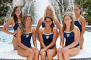 FIU Swimming and Diving Team Photo at the FIU Campus Fountain.