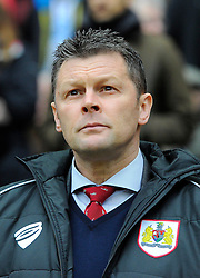Bristol City manager, Steve Cotterill  - Photo mandatory by-line: Joe Meredith/JMP - Mobile: 07966 386802 - 07/02/2015 - SPORT - Football - Milton Keynes - Stadium MK - MK Dons v Bristol City - Sky Bet League One