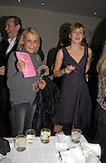 ANITA PALLENBERG AND RITA KONIG, Party to celebrate the publication of 'Rita's Culinary Trickery' by Rita Konig. Morton's. 18 November 2004.  ONE TIME USE ONLY - DO NOT ARCHIVE  © Copyright Photograph by Dafydd Jones 66 Stockwell Park Rd. London SW9 0DA Tel 020 7733 0108 www.dafjones.com