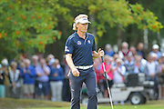 Bernhard Langer on the 14th hole during The Senior Open Championship, Sunningdale Golf Club, Sunningdale, United Kingdom on 23 July 2015. Photo by Phil Duncan.